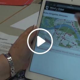 Zaragoza: video testimonial about Mobile Age co-creation process